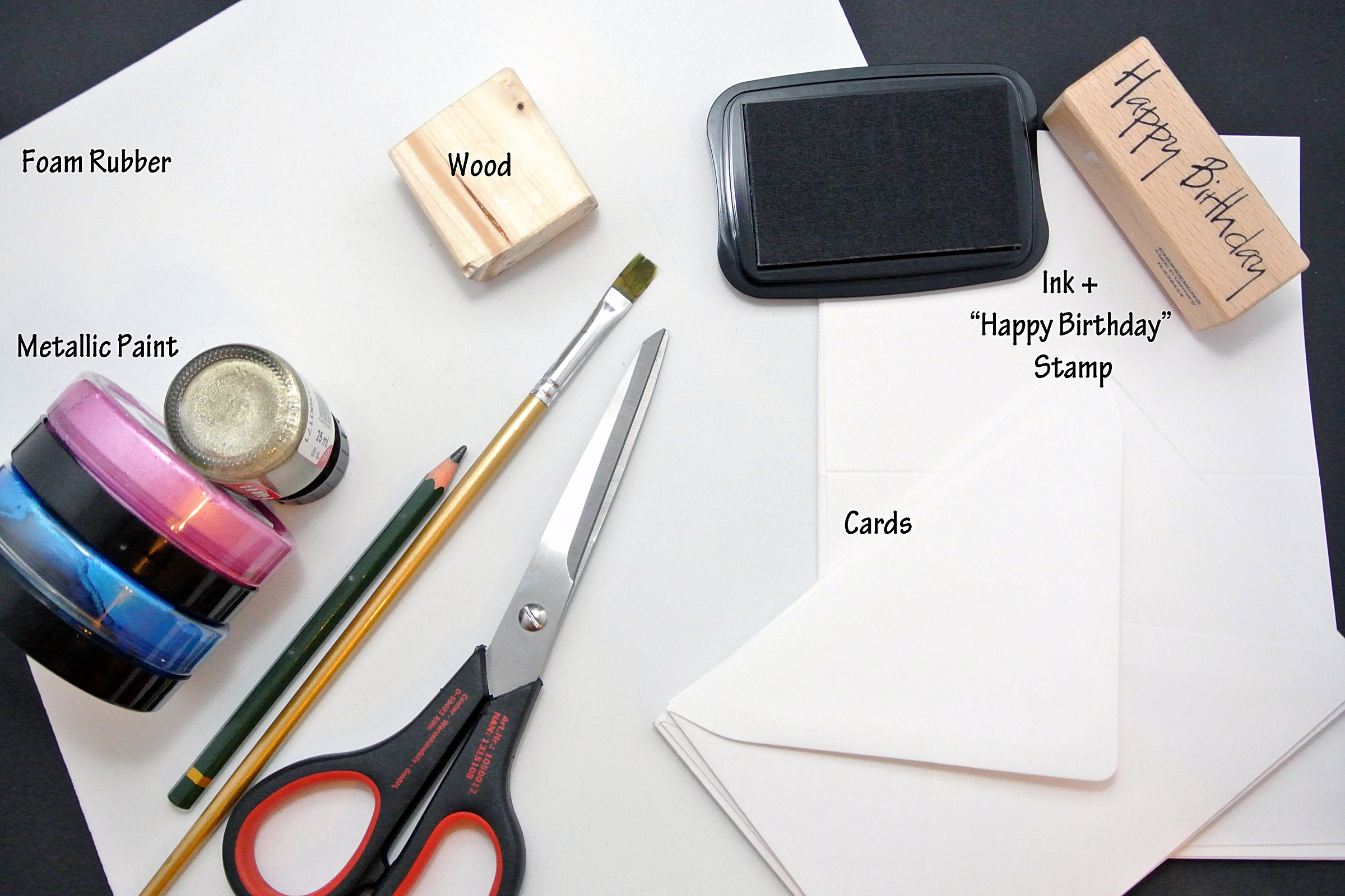 DIY: Triangle Stamp Cards