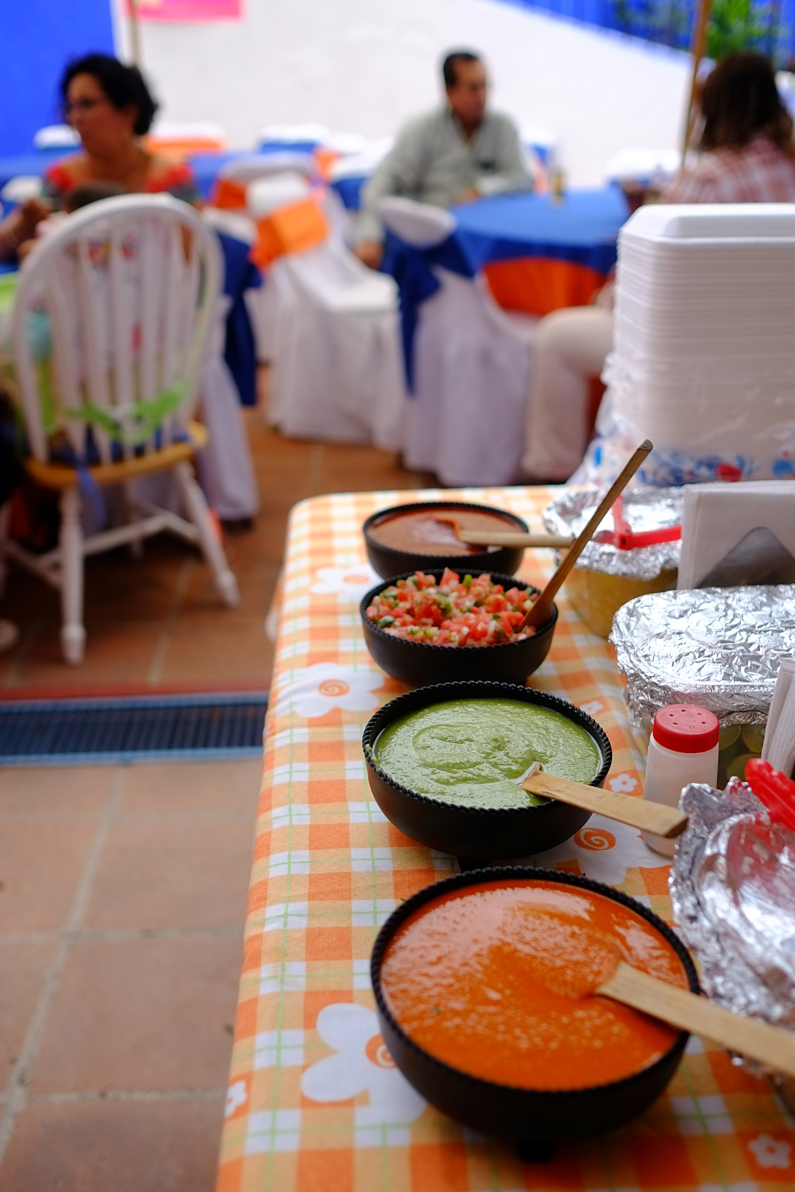 A Mexican birthday party