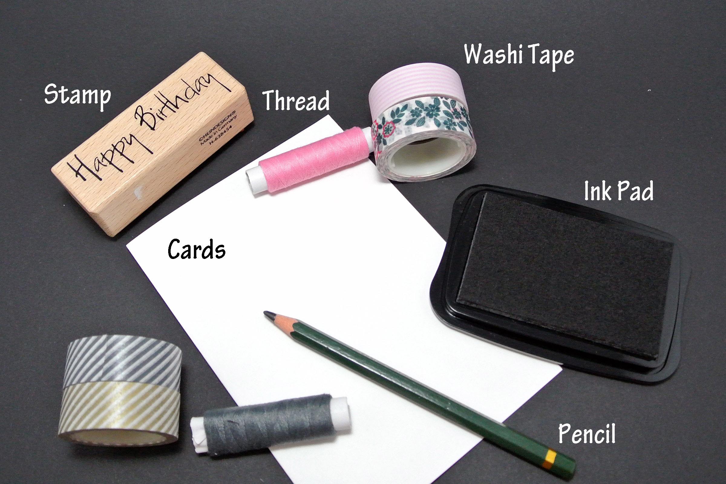 DIY: Bunting Cards