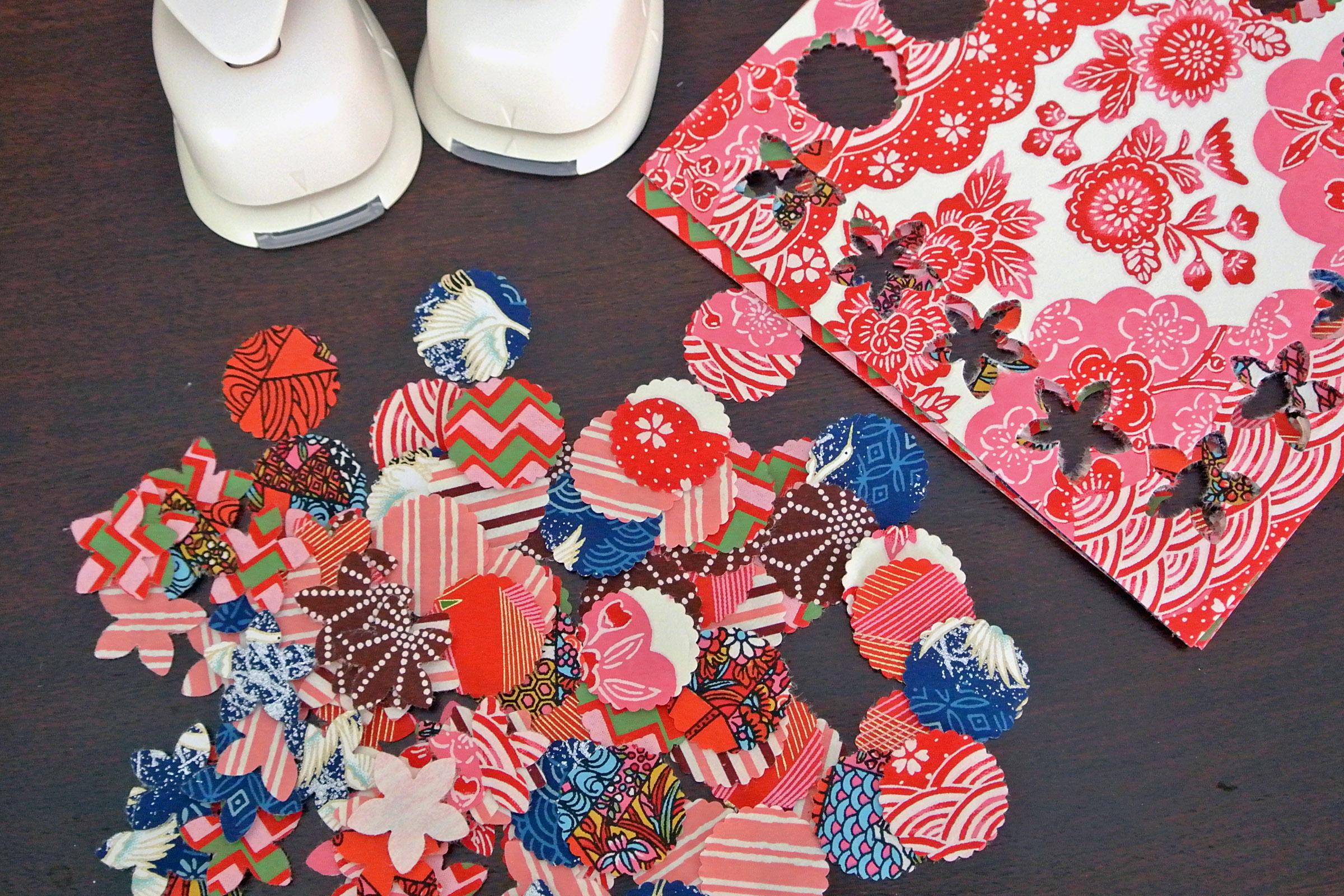 DIY: Sewn Origami Paper Cards