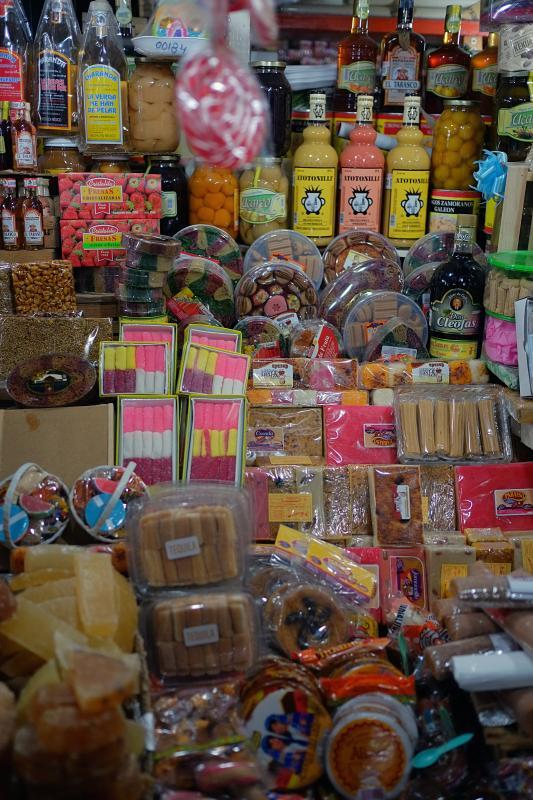 Mercado de dulces y artesanías 2