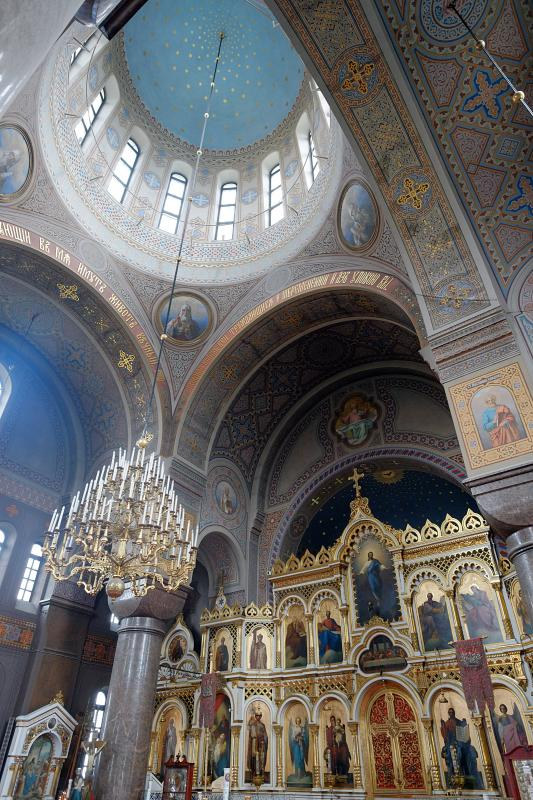 Inside the Uspenski Cathedral