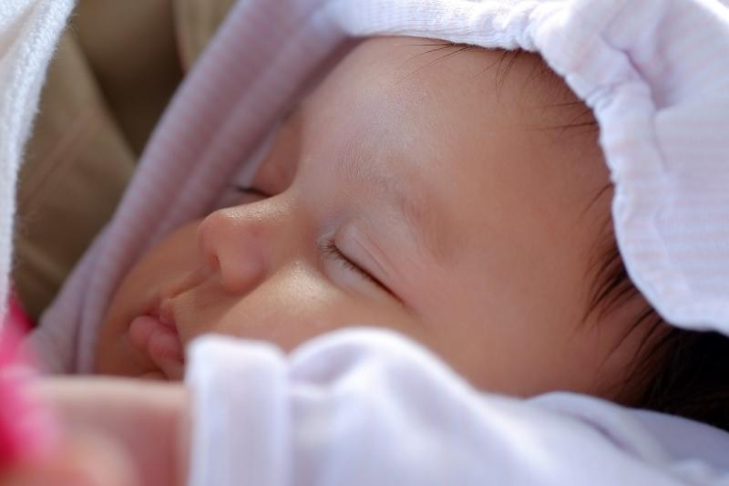 Sleeping baby Moomin