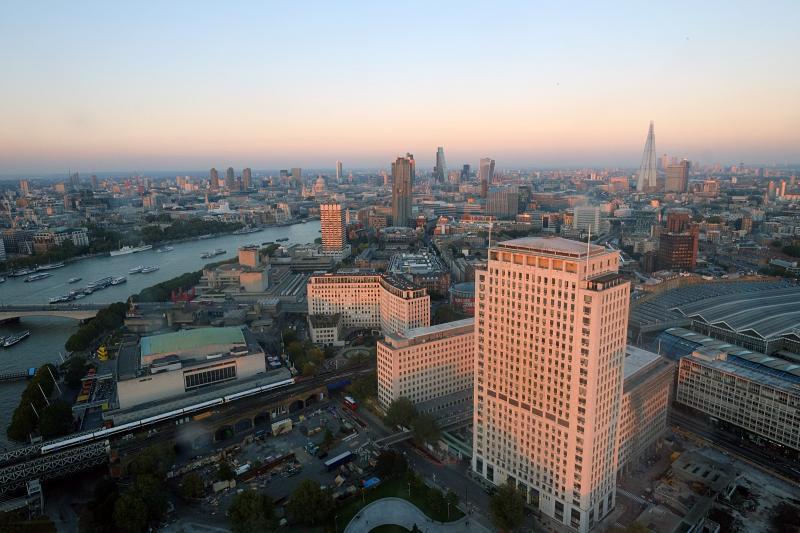 London at dusk 2
